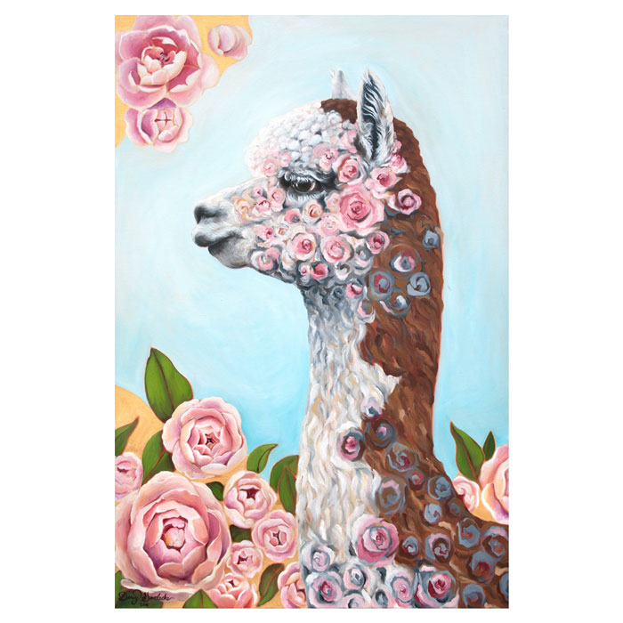 'Rosie the Alpaca' by Darcy Goedecke