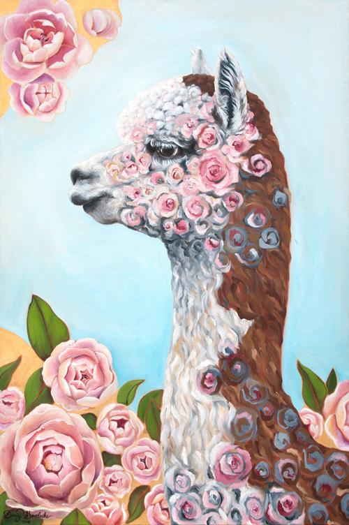 """Rosie the Alpaca"" by Darcy Goedecke"
