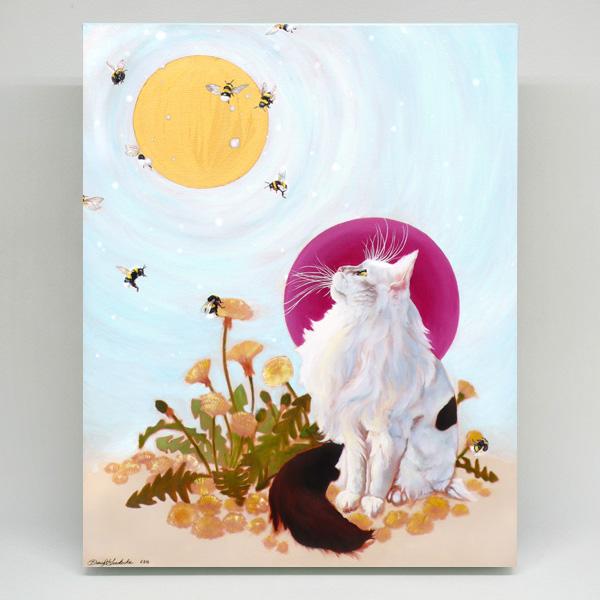 Trillium's Gaze 8×10 canvas prints by Darcy Goedecke