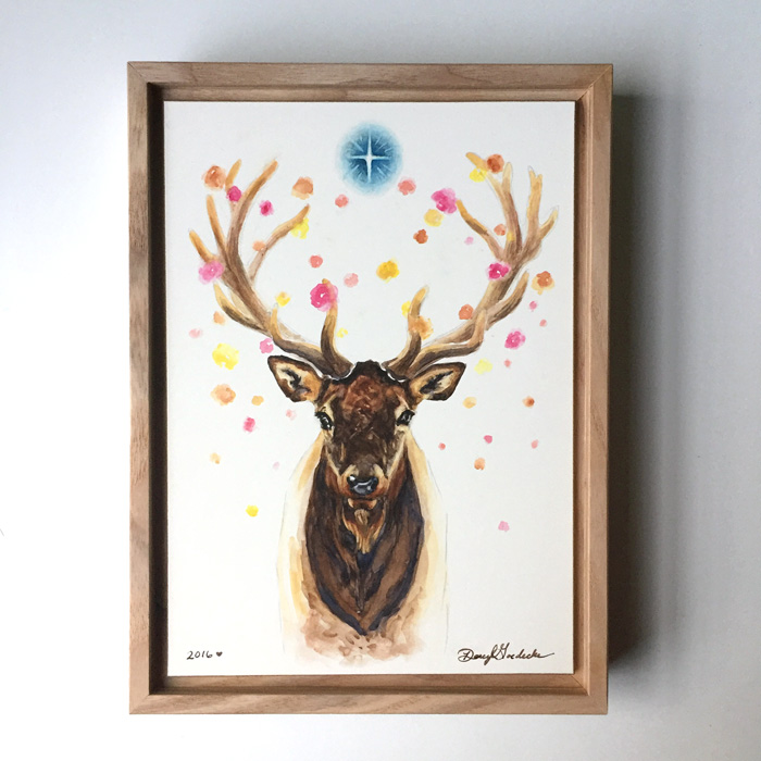 Starlight Elk by Darcy Goedecke