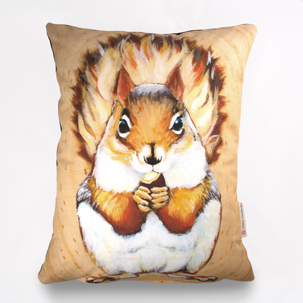 Squee Pillow by Darcy Goedecke
