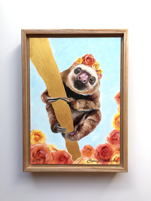 Elvis-SlothFramedWeb