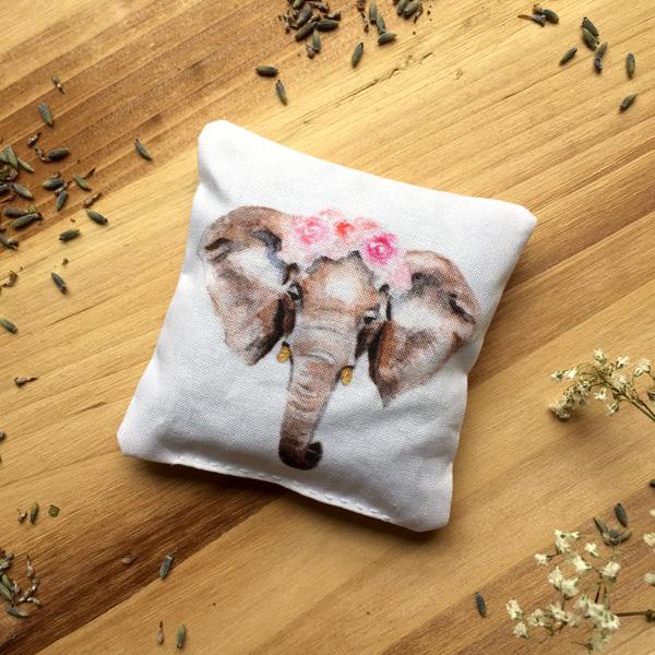 Elephant Ranunculus Sachet by Darcy Goedecke