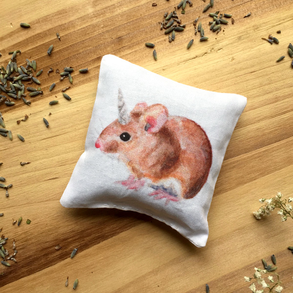 Mousicorn Sachet by Darcy Goedecke
