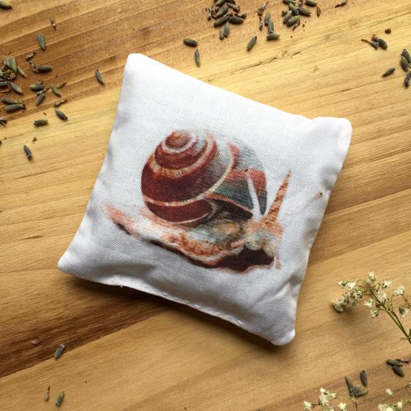 Snailicorn Sachet by Darcy Goedecke