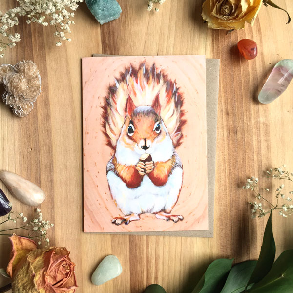 Squee Card by Darcy Goedecke