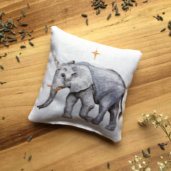 Uniphant Sachet by Darcy Goedecke