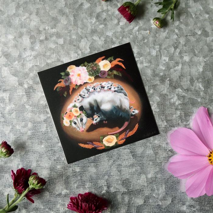 OpossumMamaMagnetSquareWeb