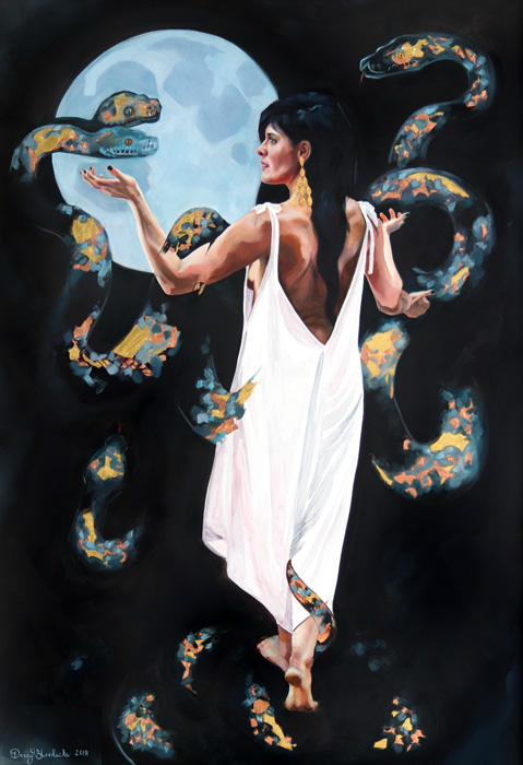 SerpentSorceress13x19Web