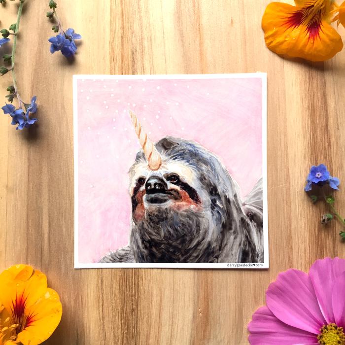 SlothicornStickerWeb