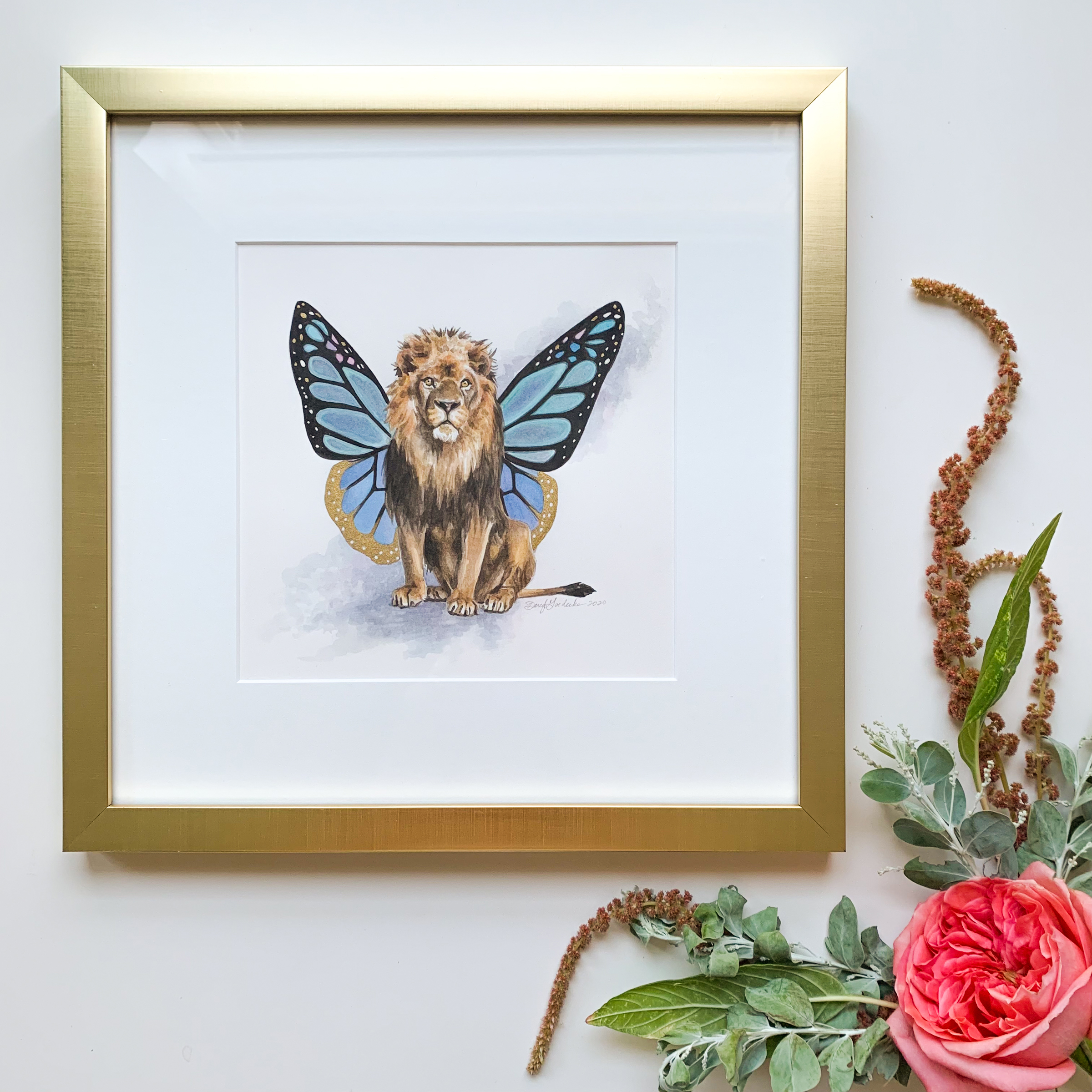 Flutter Lion by Darcy Goedecke