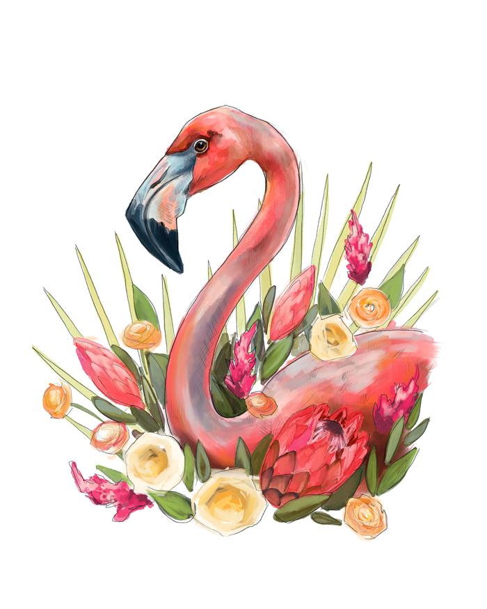 Flamingo8x10Web