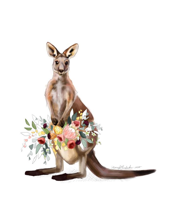 Kangaroo Mama by Darcy Goedecke