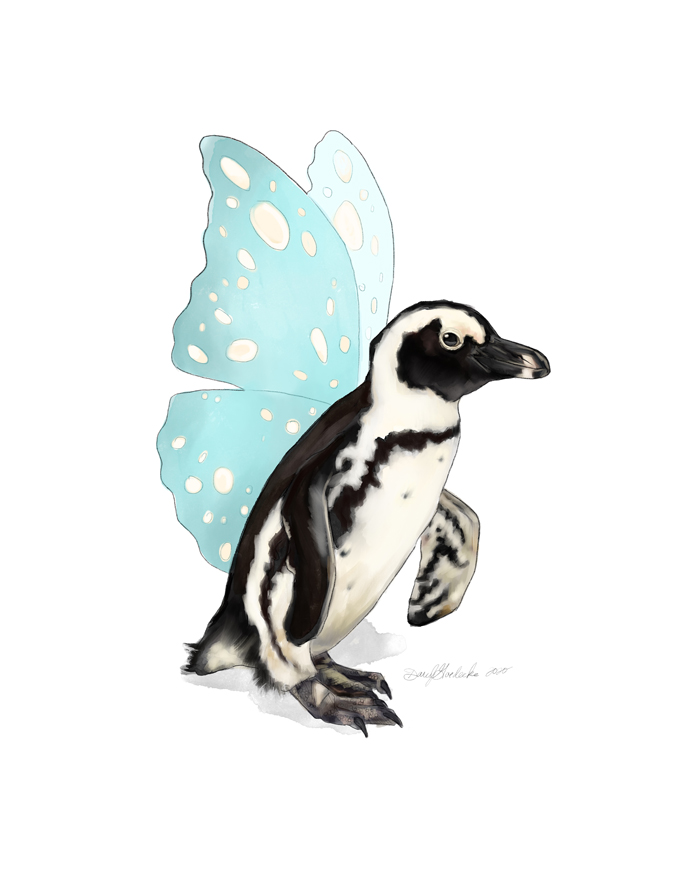 Flying Penguin by Darcy Goedecke