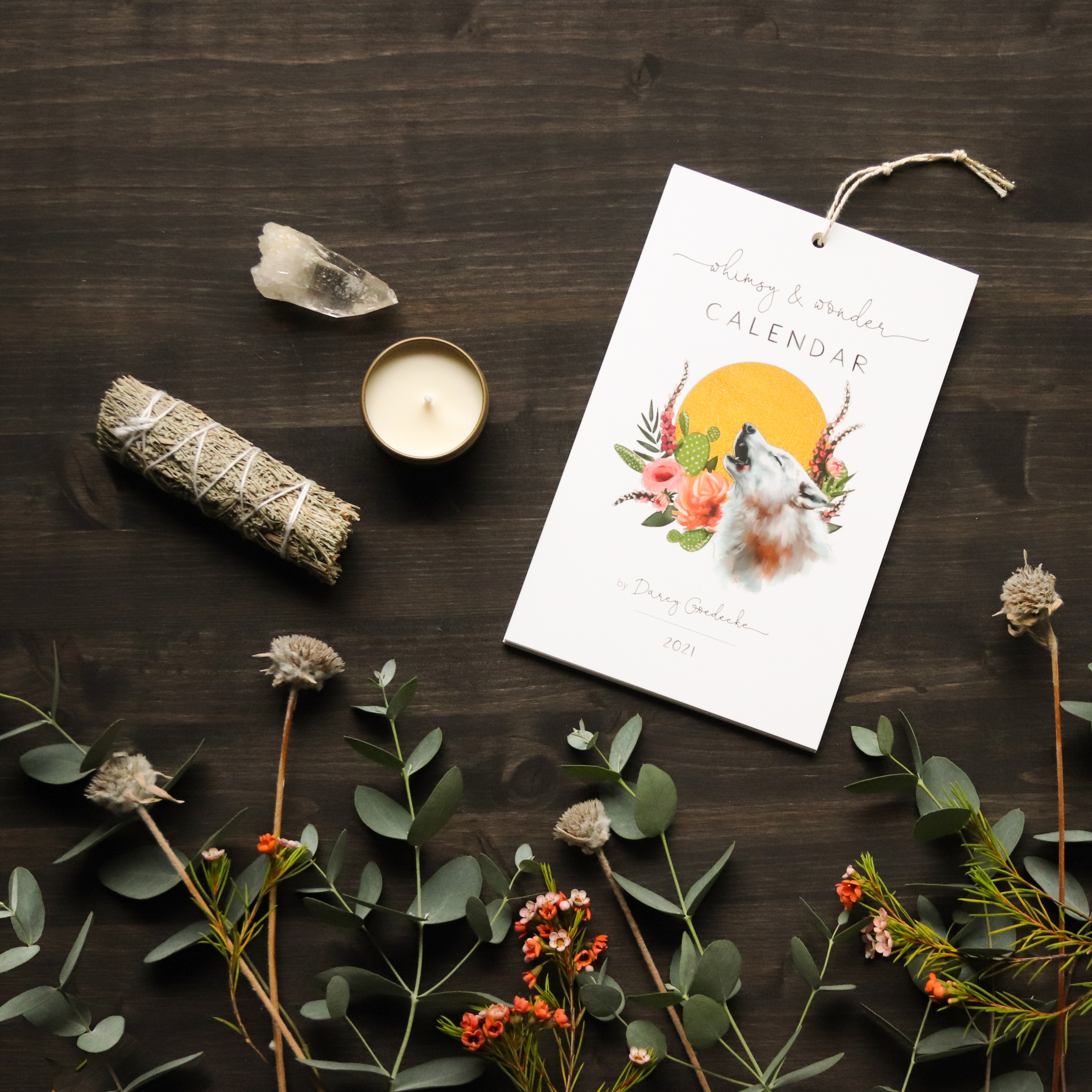 2021 Intention Kit by Darcy Goedecke