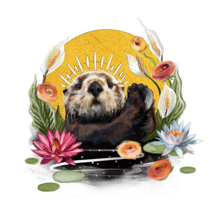 Otter Queen by Darcy Goedecke