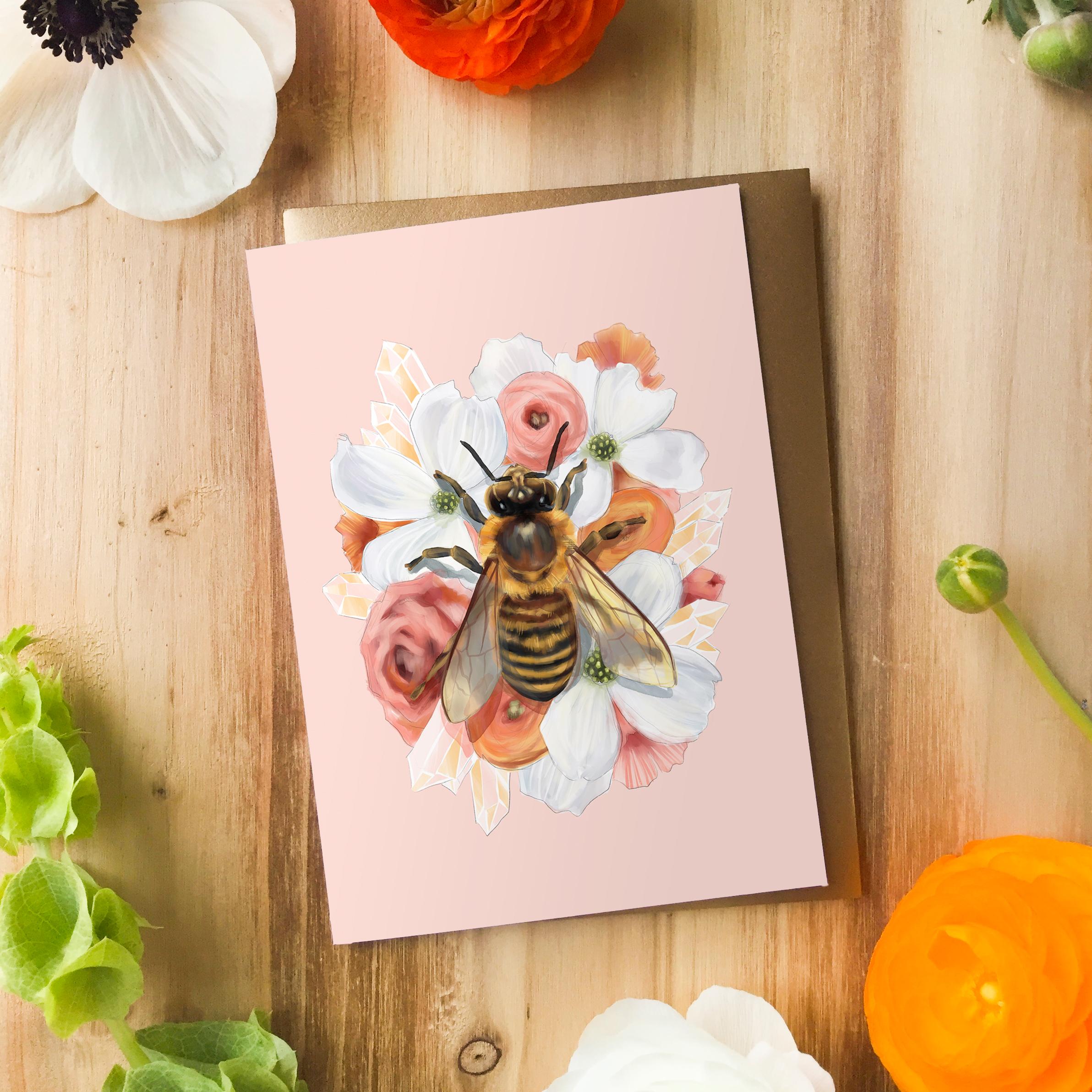 HoneyBeeCard