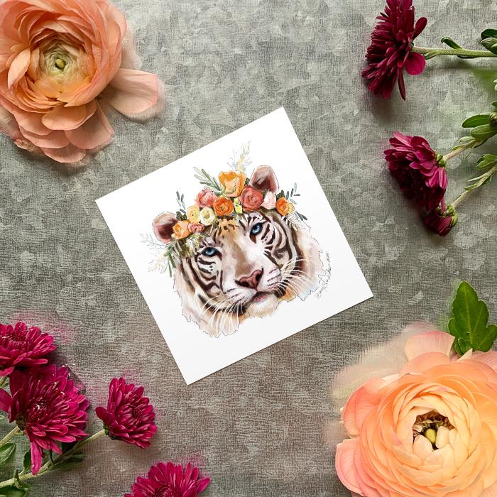 Tigress Magnet by Darcy Goedecke